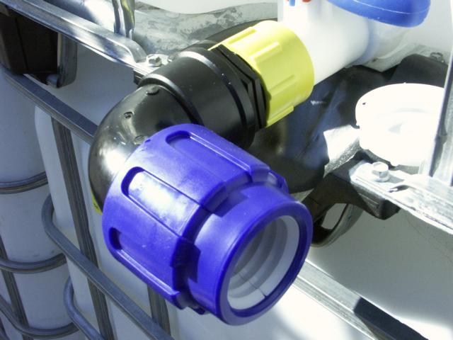 Komplett Neu Tankverbindung für 50 mm PE Rohr - VOXTRADE - PE Rohre  VI67